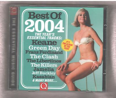 Q THE BEST OF 2004 CD Keane Franz Ferdinand Green Day Wilco & More