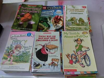 Lot 95 Books Early Readers 1st - 3rd Grade Level 1 2 3 4 Chapter Books Summer