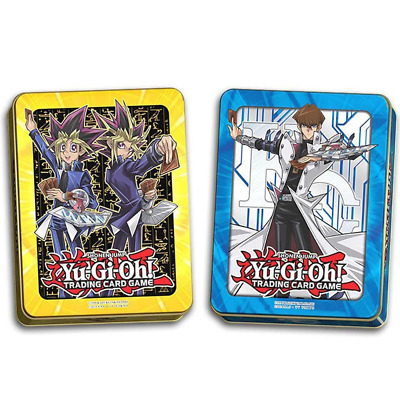 YU-GI-OH! TCG 2017 Mega Collectors Tin - 1 Pair of Both Tins
