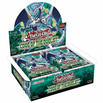 YU-GI-OH! TCG Code of the Duelist Booster Box 24 Packs- 1 Box