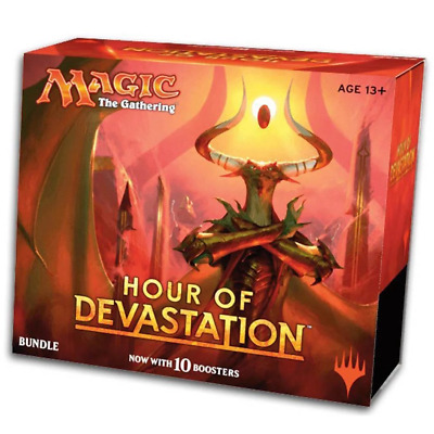 Magic The Gathering Hour of Devastation Bundle - 10 Booster Packs