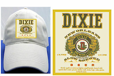 Dixie New Orleans Beer Label Ball Cap