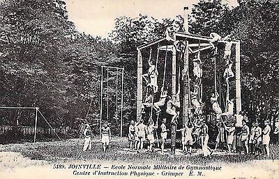 JOINVILLE - Ecole Militaire Gymnastique - Centre Instruction - Grimper