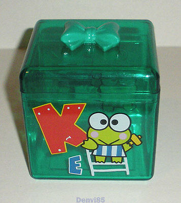 "VINTAGE! 1995 Sanrio KEROPPI ""Ribbon Box"" Trinket Case!"
