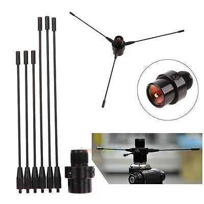 RE-02 Ground UHF-F 10-1300MHz Antenna for Car Mobile Radio Motorola with Holder