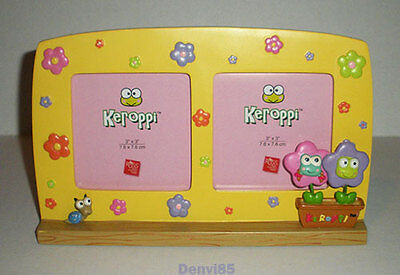 VERY CUTE & HTF! 2005 Sanrio KEROPPI Dual Photo Frame!