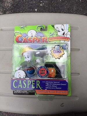 CASPER The Ghost Action Figure Toy with Sound NEW! 1997 Trendmasters  Read