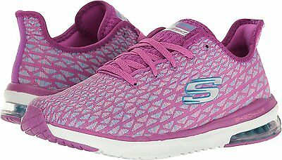 sells preview of entire collection SKECHERS SKECH-AIR INFINITY-FREE FALLIN' Womens Purple/Blue ...