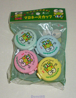 VINTAGE! 1992 Sanrio KEROPPI Condiment Container Set from JAPAN! NEW!
