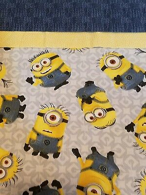 Embroidered Personalized STANDARD Pillowcase Minions