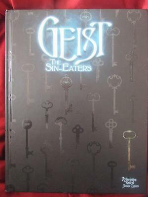 RARE - GEIST THE SIN-EATERS. World of Darkness Roleplaying Game Core rulebook