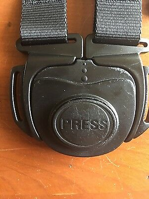 Genuine Baby Jogger City Mini Replacement 4 Way Harness Clip Buckle + Shoulder