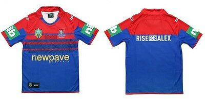 Newcastle Knights ISC NRL Heritage Jersey Sizes S-3XL With Players Names Printed
