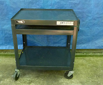 Adjustable Av  Equipment Cart With 120 Volt X 15 Amp Electrical System