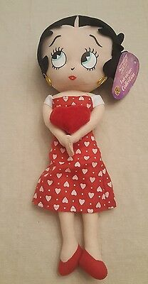 Betty Boop Sugar loaf 18' Valentine Collection doll NWT