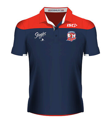 Sydney Roosters NRL Navy Players Polo Shirt Sizes S-5XL! BNWT's!5