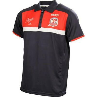 Sydney Roosters NRL ISC Players Navy Polo Shirt Mens & Ladies Sizes! BNWTS!