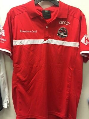 Illawarra Cutters NRL ISC Players Polo Shirt Size S-5XL!
