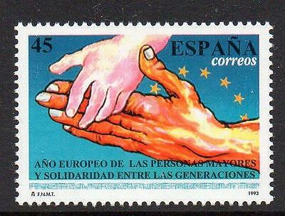 Spain MNH 1993 European Year of the Elderely