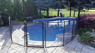 Safety pool fence  4 feet x 15 feet section