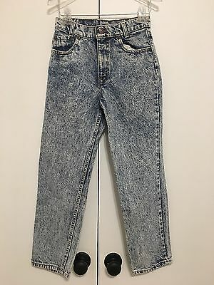Vintage Levi's Jeans Acid Wash 27x28 Made In USA