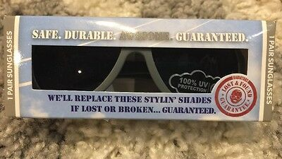 NEW Babiators Sunglasses Baby Toddler Ages 0-3 Galactic Gray