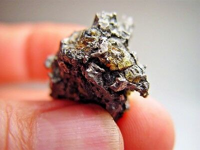 Best Quality! Supreme Crystal Nugget! Stable! Amazing Admire Meteorite 12.7 Gm