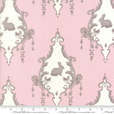 by 1//2 yard MODA Fabric ~ LILY /& WILL REVISITED FLANNEL ~ Bunny Hill 2800 22F