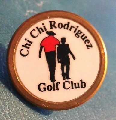 RARISIMO PIN personal CHI CHI RODRIGUEZ campeon Puerto Rico world Golf Champion