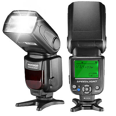 Neewer NW620 Manual Flash Speedlite With LCD Display for Sony Camera DSLR