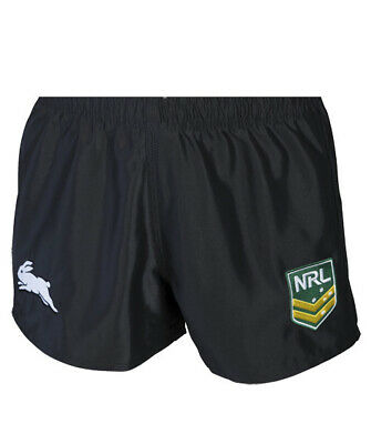 South Sydney Rabbitohs NRL 2019 Home Supporters Shorts Adults & Kids Sizes!