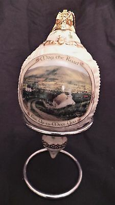 Irish Blessings X-Mas Ornament May the Road Rise to Meet You Bradford Exchange