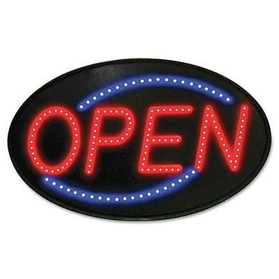 U. S. Stamp & Sign 5583 Newon LED Sign, Red/Blue, 13 x 21