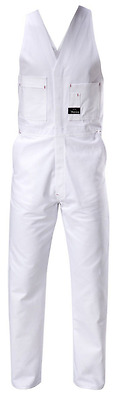 Hard Yakka Cotton Drill Action Back Overall | White 102S