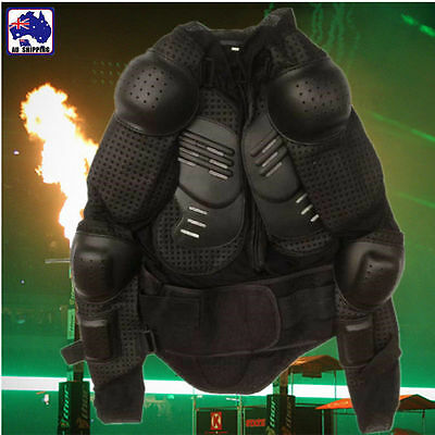 Motocross Dirt Bike Body Armour Jacket Motorcycle Protection 150-155cm OMOAR