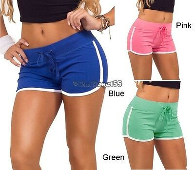 2017  Ladies Girl Shorts Training Fitness Sports Gym Beach Shorts New Pants E5