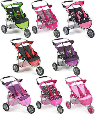 Chic 2000 Bayer Zwillingsjogger Buggy Puppenwagen