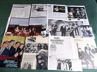 The Shadows - Pop Music Clippings /cutting Pack