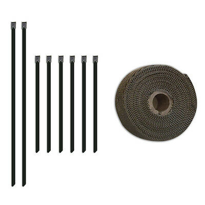 "Mishimoto MMTW-235 Heat Wrap - 2"" x 35' Roll Stainless Locking Tie Set"
