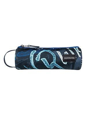 "QUIKSILVER ""PENCILO"" BOYS PENCIL CASE. DARK DENIM THUNDERBOLTS (brq8)"