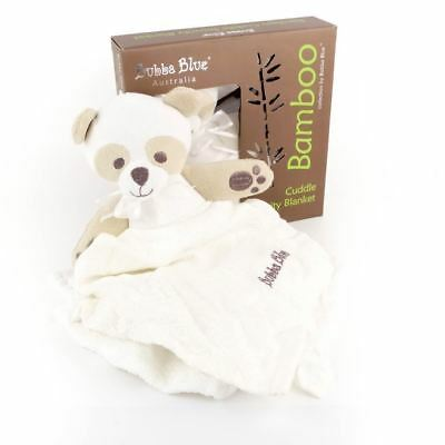 Bubba Blue Baby Bamboo Cuddle Security Blanket Toy Comforter New Gift Blankie