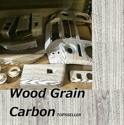 WOOD GRAIN Hydrographics Dipping Film Water Transfer Printing 0.5x1m light brown