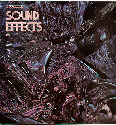 BBC SOUND EFFECTS No.3~UK 11-TRACK MONO LP RECORD~BBC RED 102M [70s RE-ISSUE]