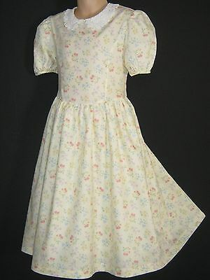 Laura Ashley Vintage Mother&child Label Sunshine Viola Summer Dress, 6 Years