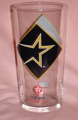 1994 Texaco Houston Astros Baseball MLB Drinking Glass