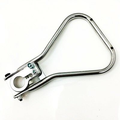Chrome Clutch Handle Lever Complete with Hub for 125 Shifter Karts