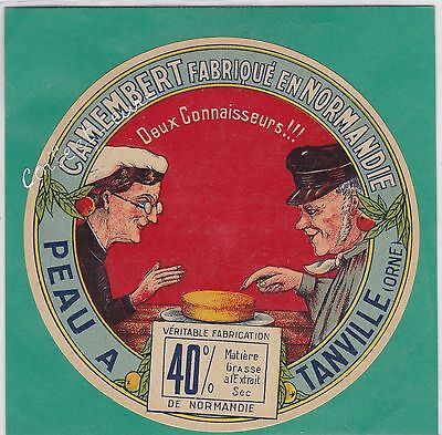 K444 Fromage Camembert Peau Tanville Orne Normands