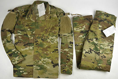 New Usgi Army Military Uniform Scorpion W2 Ocp Camo Shirt Pant Sr Small Regular