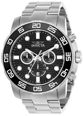 Invicta Pro Diver 22226 Men's Black Round Chronograph Date Analog Watch