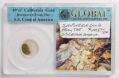 49'er California Gold Recovered from S.S. Central America Shipwreck – Global CSI